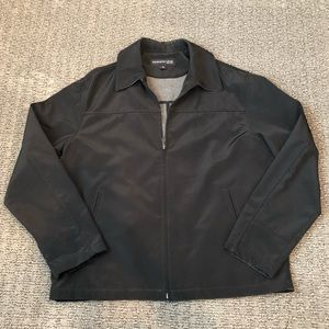 Kenneth Cole - black lightweight jacket